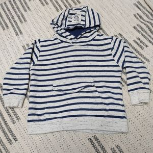 Zara Baby striped hoodie size 2-3 years